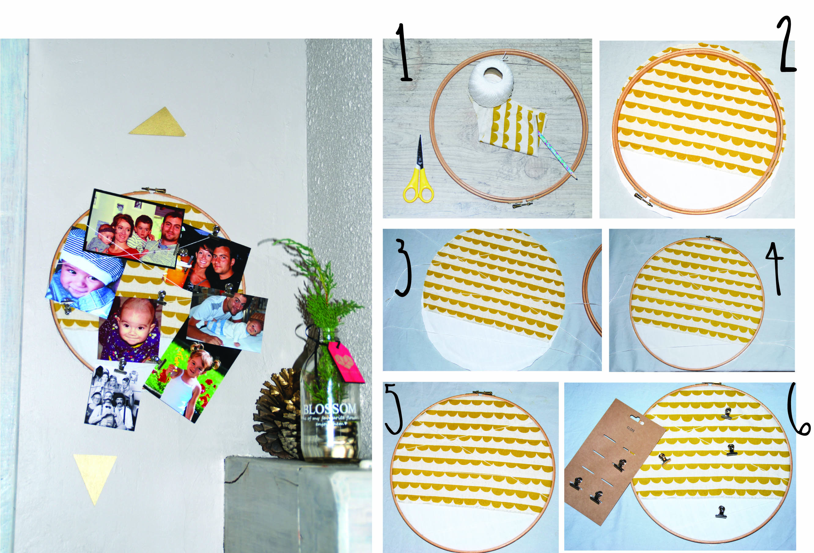 diy rond photos